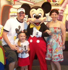 Mickey and family