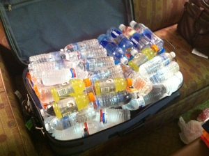 Water suitcase