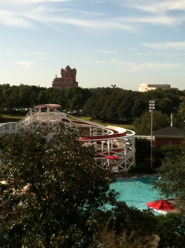 View of Tower of Terror from BoardWalk Villas