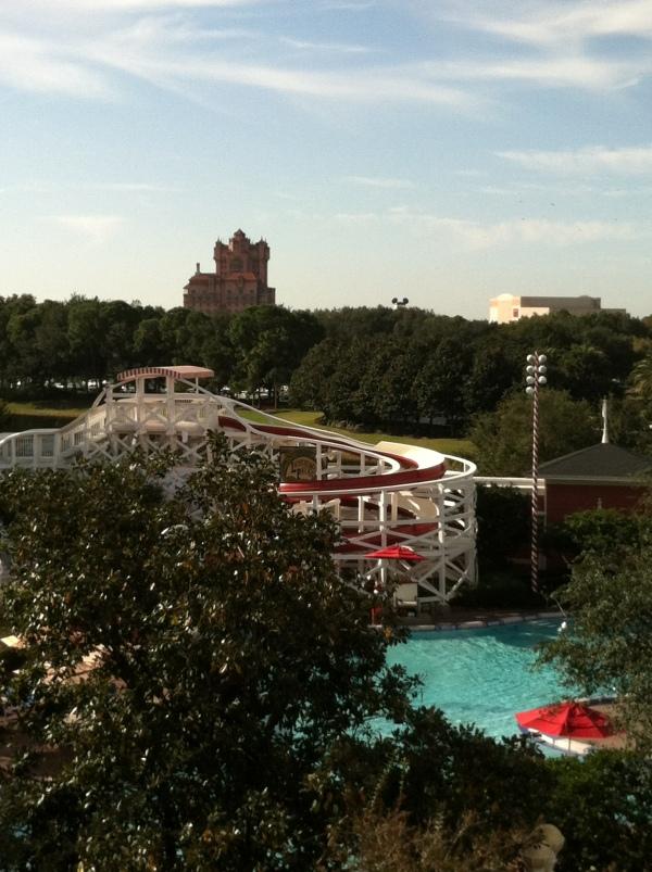 View of Tower of Terror from BoardWalk Villas