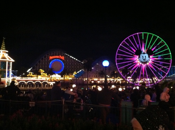 Mickey's Fun Wheel & California Screamin'