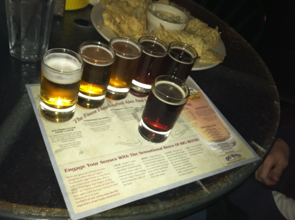 Beer Tasting - Big River Grille & Brewing Works