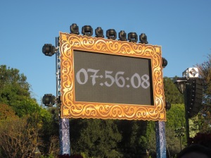 Disneyland NY Eve 2012