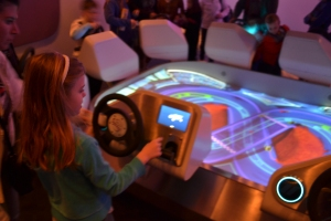 Drive your virtual car after the ride
