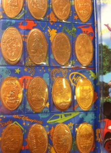 Disneyworld Pressed Pennies