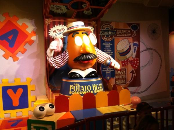 Mr. Potato Head - Toy Story Mania at Hollywood Studios