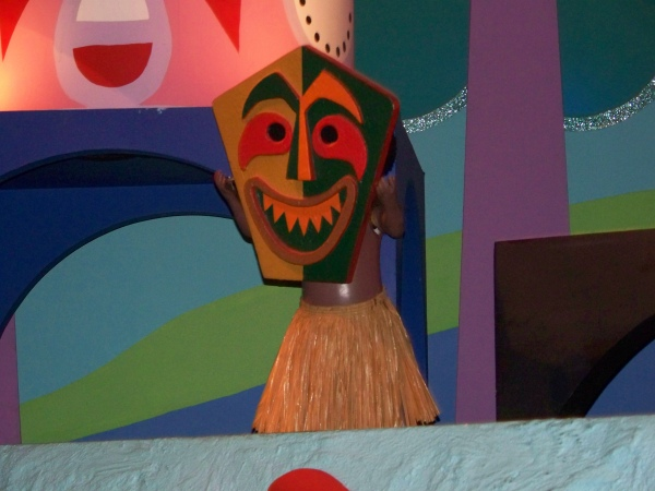 it's a small world at Magic Kingdom