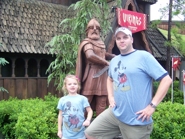 Vikings at Norway Pavilion in Epcot