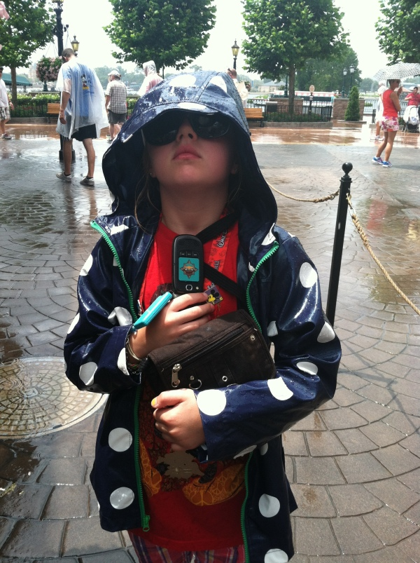 Staying dry at Epcot