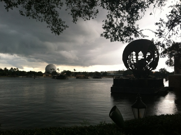 Spaceship Earth Storm Clouds