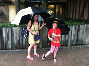 Umbrellas at Epcot