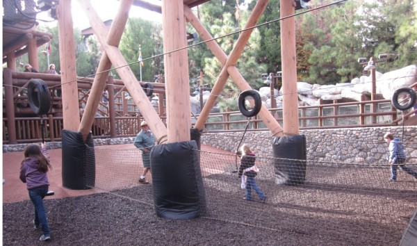 Wilderness Explorers at Disney California Adventure - Zipline