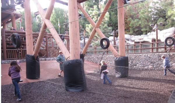 Wilderness Explorers at Disney California Adventure - Zipline