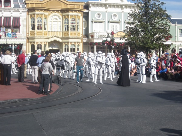 Star Wars Christmas Parade at Magic Kingdom