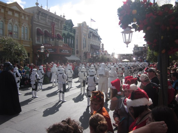 Storm Trooper Parade at Magic Kingdom