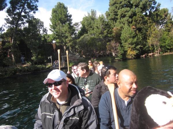 Davy Crockett's Explorer Canoes - Disneyland