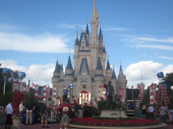 Christmas at Cinderella Castle
