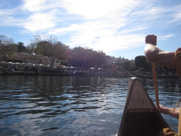 Davy Crockett's Explorer Canoes Disneyland