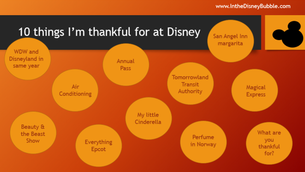 Thankful at Disney World
