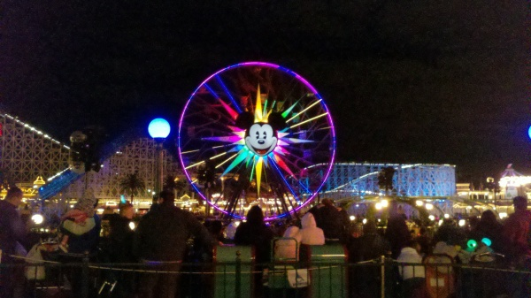 Mickey's Fun Wheel & California Screamin' at Disney California Adventure