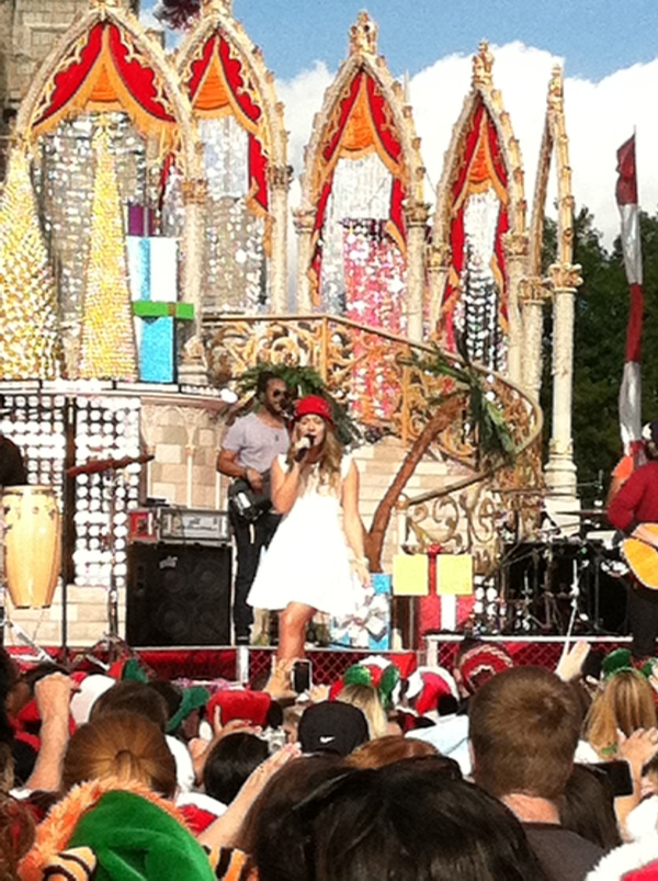 Colbie Caillat at Magic Kingdom