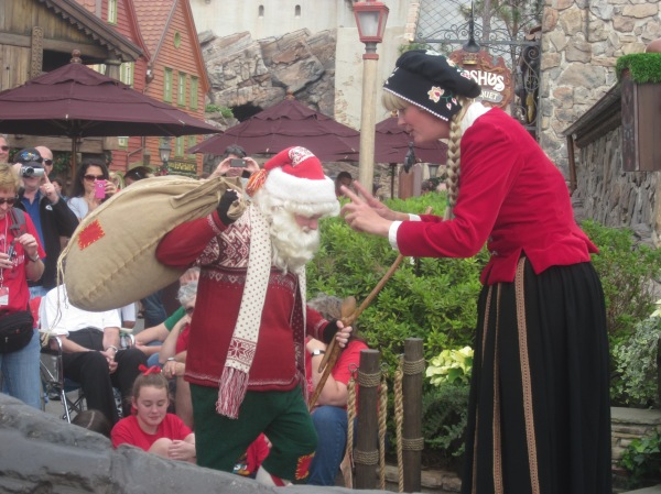 Holiday tale of Julenissen in the Norway Pavilion at Epcot