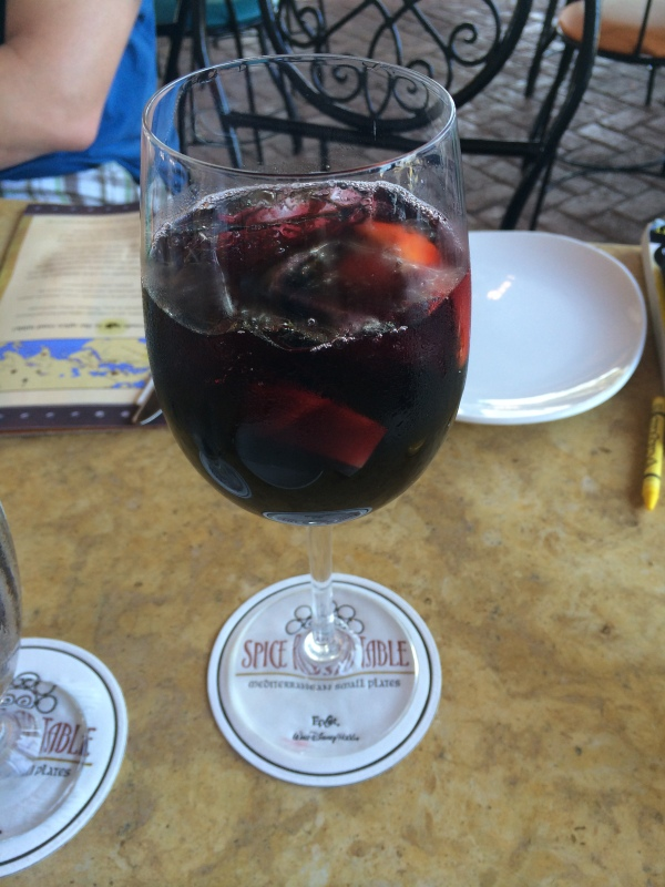 Sangria at Spice Road Table