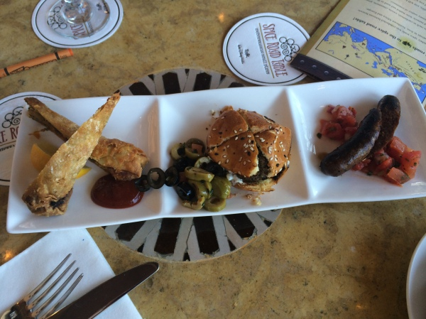 Tingis Sampler at Spice Road Table