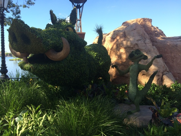 Epcot Flower and Garden Festival - Pumbaa and Timon