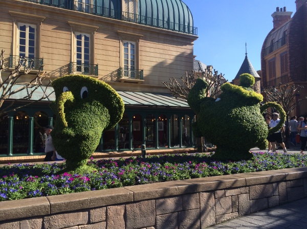 Epcot Flower and Garden Festival - Chip and Mrs. Potts