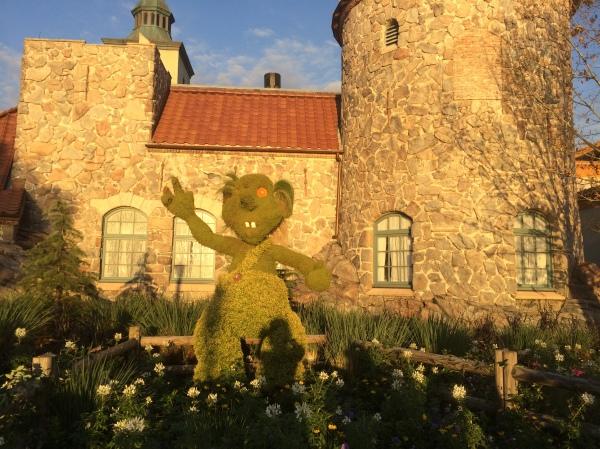 Epcot Flower and Garden Festival - Troll