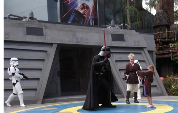 Jedi versus Darth Vader