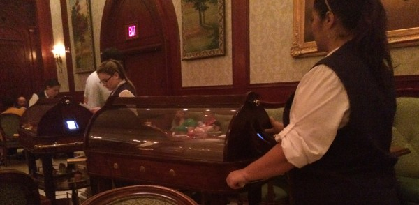 Lunch cart  at Be Our Guest