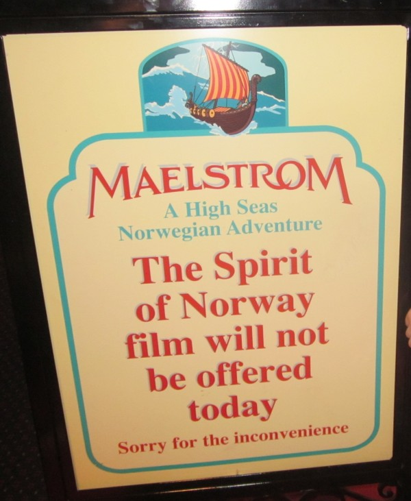 Maelstrom closed!
