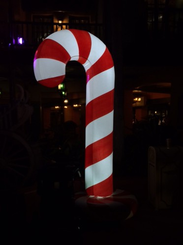 Candy Cane treat station