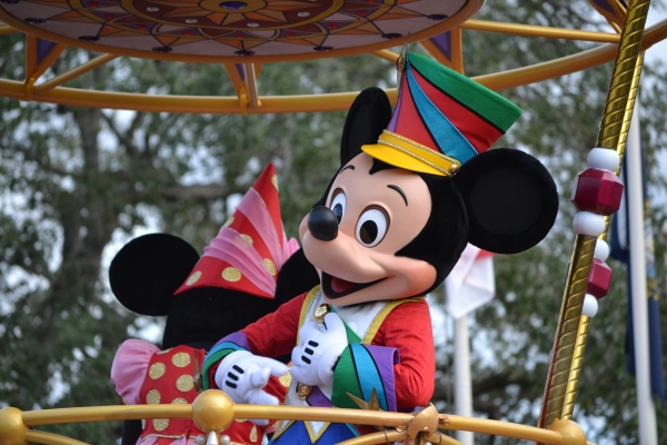 Mickey at Festival of Fantasy Parade