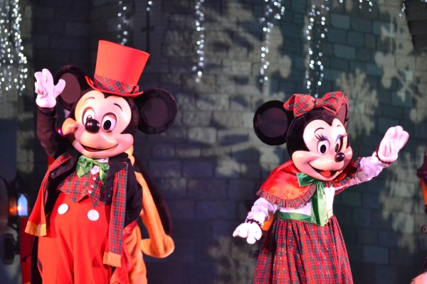 Celebrate the Season with Mickey and Minnie