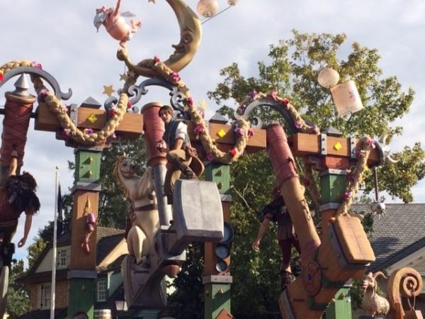 Flynn Rider - Festival of Fantasy Parade