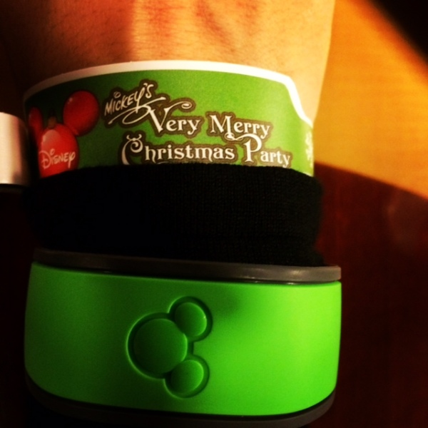 Mickeys Very Merry Christmas Party Ticket
